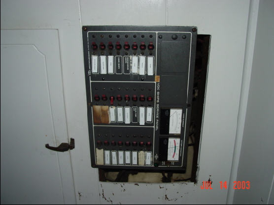 Improper DC panel installation