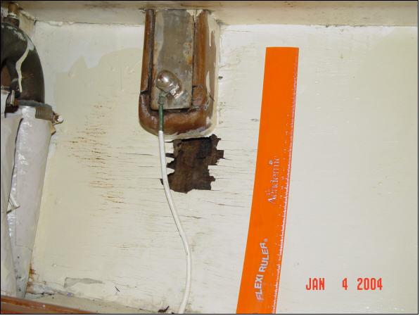 Leaky Chainplate